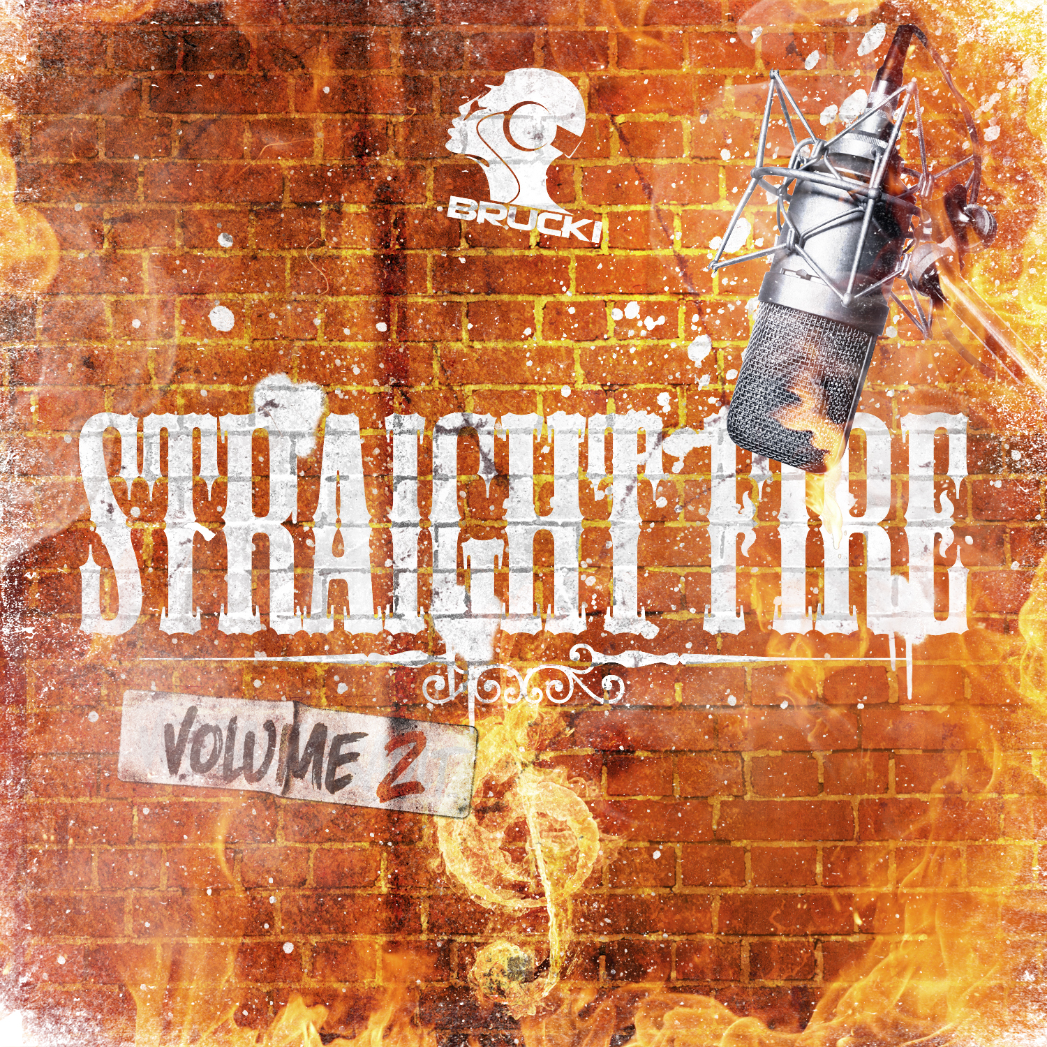 DJ Brucki - Straight Fire 2 (Cover)